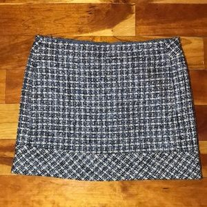 KENAR Tweed Mini Skirt